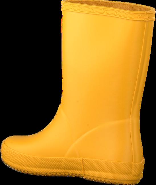 Gelbe HUNTER Gummistiefel KIDS FIRST CLASSIC  - large