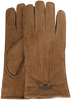 Cognacfarbene WARMBAT Handschuhe GLOVES WOMEN SUEDE - small