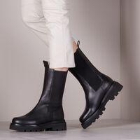 Schwarze TORAL Chelsea Boots TL-12577  - medium