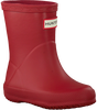 Rote HUNTER Gummistiefel KIDS FIRST CLASSIC - small