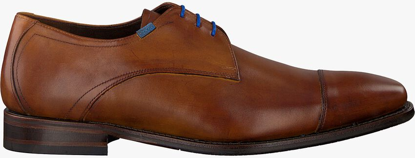 Cognacfarbene VAN BOMMEL Business Schuhe 14370 - larger