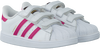 Weiße ADIDAS Sneaker SUPERSTAR CF - small