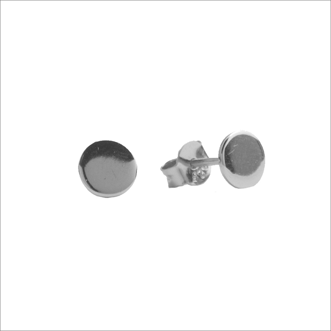 Silberne ALLTHELUCKINTHEWORLD Ohrringe PARADE EARRINGS CIRCLE - large