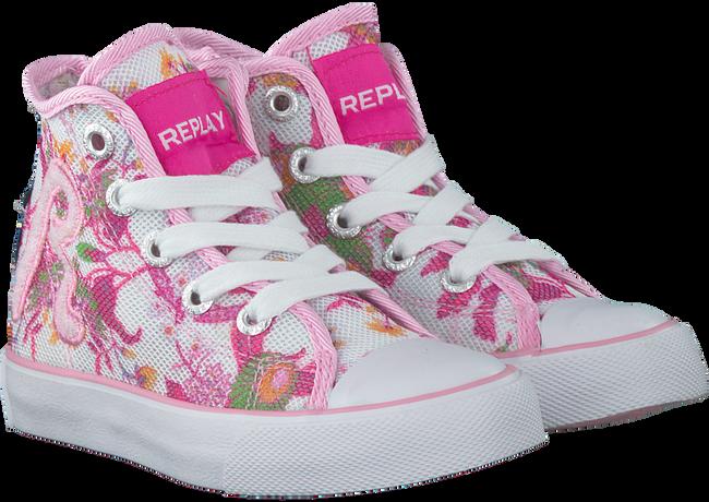 Weiße REPLAY Sneaker RESEDA - large