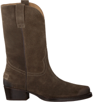 Taupe SHABBIES Ankle Boots 192020080  - medium