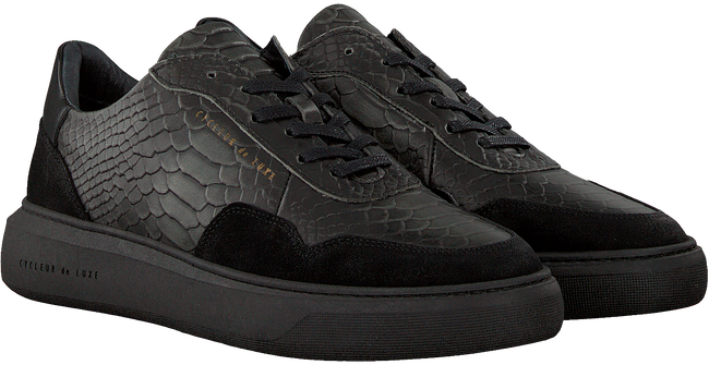 Schwarze CYCLEUR DE LUXE Sneaker BUS LOW  - large