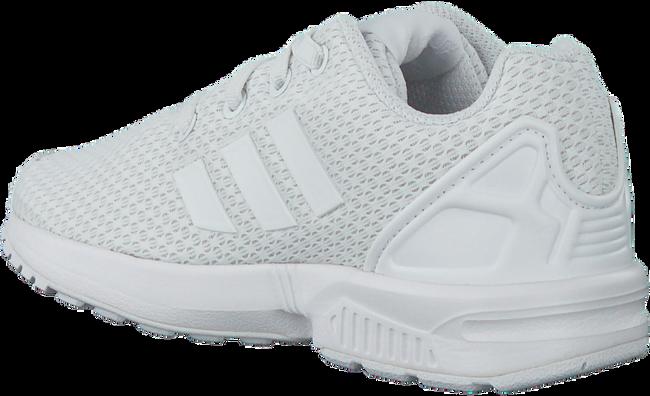 Weiße ADIDAS Sneaker ZX FLUX KIDS - large