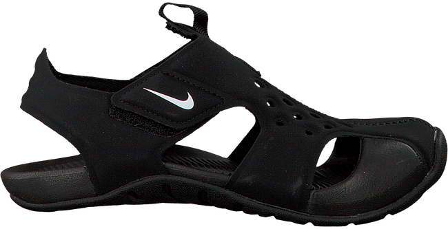 Schwarze NIKE Sandalen SUNRAY PROTECT 2 (PS) - large