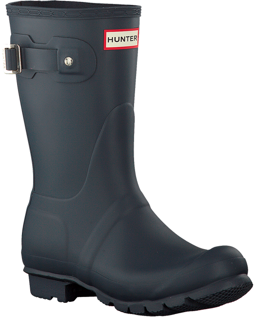 Blaue HUNTER Gummistiefel WOMENS ORIGINAL SHORT - large
