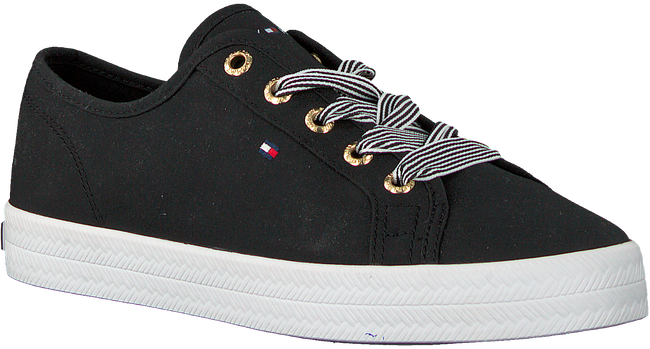 Schwarze TOMMY HILFIGER Sneaker low ESSENTIAL NAUTICAL  - large