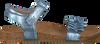 Blaue CLIC! Sandalen 8969 - small