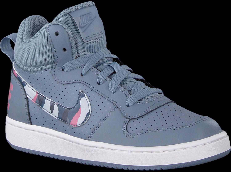 Graue NIKE Sneaker COURT BOROUGH MID (KIDS)   Omoda.at