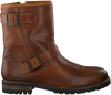 Cognacfarbene OMODA Ankle Boots 80074 - small