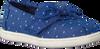 Blaue TOMS Slipper ALPARGATA  - small