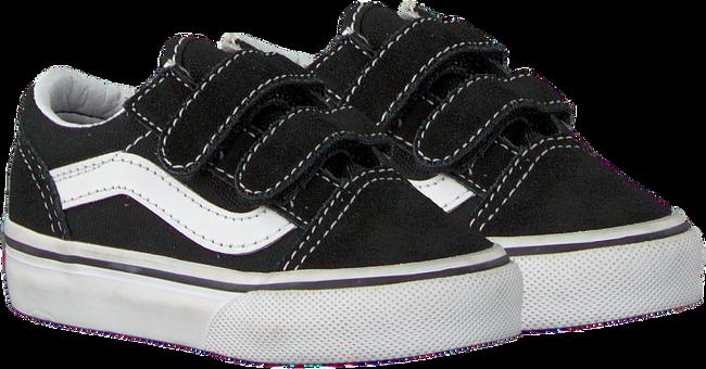 Schwarze VANS Sneaker TD OLD SKOOL V BLACK  - large
