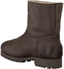 Braune SHABBIES Ankle Boots 181020072 - small