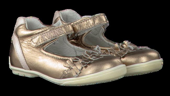 Goldfarbene TWINS Ballerinas 315211 - large