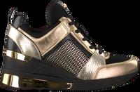 Goldfarbene MICHAEL KORS Sneaker low GEORGIE TRAINER EXTREME  - medium