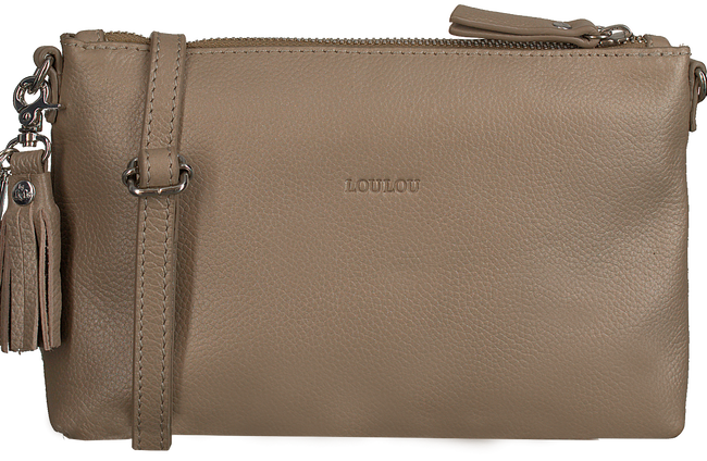Beige LOULOU ESSENTIELS Clutch 01POUCH  - large