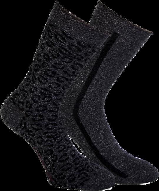 Silberne MARCMARCS Socken ERICA COTTON 2-PACK - large