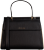 Schwarze MICHAEL KORS Handtasche JASMINE MD TH SATCHEL  - small