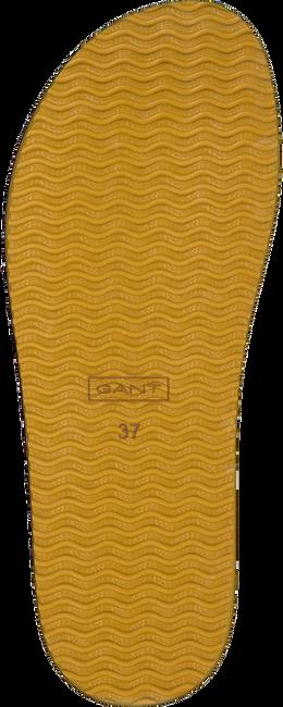 Cognacfarbene GANT Zehentrenner FLATVILLE  - large