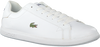 Weiße LACOSTE Sneaker GRADUATE  - small