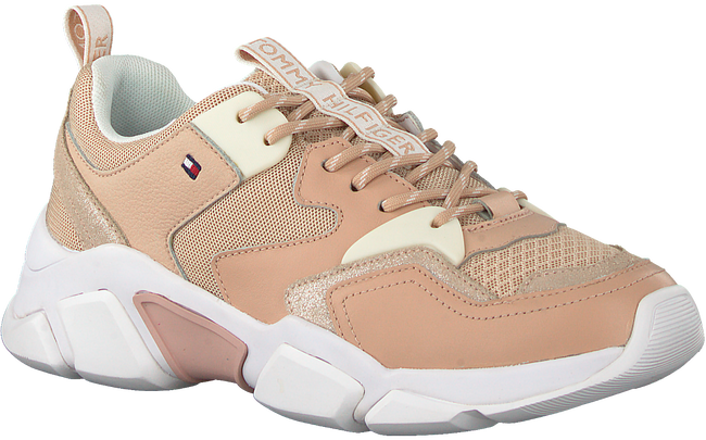 Beige TOMMY HILFIGER Sneaker low CHUNKY LIFESTYLE GLITTER  - large