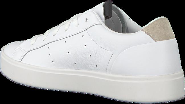 Weiße ADIDAS Sneaker SLEEK W  - large