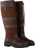 Braune DUBARRY Langschaftstiefel GALWAY - small