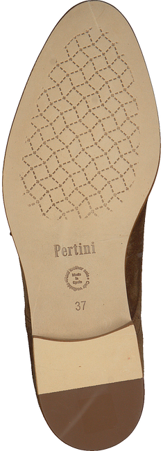 Cognacfarbene PERTINI Slipper 191W15216C  - large