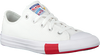Weiße CONVERSE Sneaker low CHUCK TAYLOR ALL STAR OX KIDS  - small