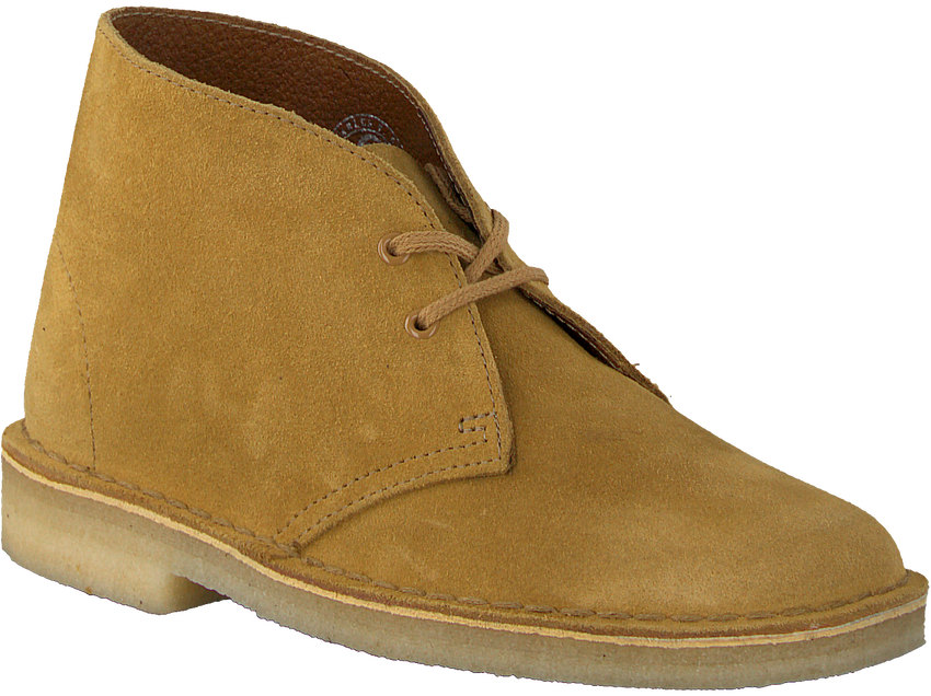Gelbe CLARKS Ankle Boots DESERT BOOT DAMES - larger