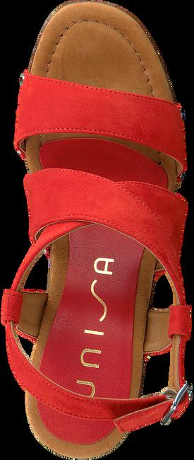 Rote UNISA Sandalen TERRAT  - large