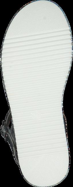 Silberne TOMMY HILFIGER Sandalen PLATFORM SANDAL  - large