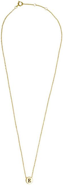 Goldfarbene ALLTHELUCKINTHEWORLD Kette CHARACTER NECKLACE LETTER GOLD - large