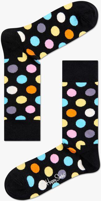 Schwarze HAPPY SOCKS Socken BIG DOT - large