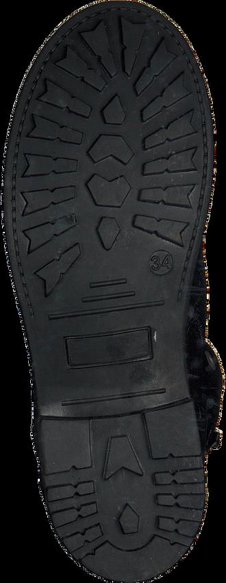 Schwarze BULLBOXER Schnürstiefel AHT503E6C - larger