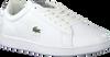 Weiße LACOSTE Sneaker low CARNABY EVO 220 1  - small