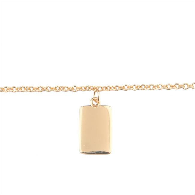 Goldfarbene ALLTHELUCKINTHEWORLD Armband SOUVENIR EARRINGS RECTANGLE - large