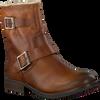 Cognacfarbene OMODA Biker Boots 25606 - small