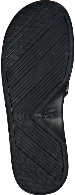 Schwarze LACOSTE Pantolette L.30 SLIDE - large