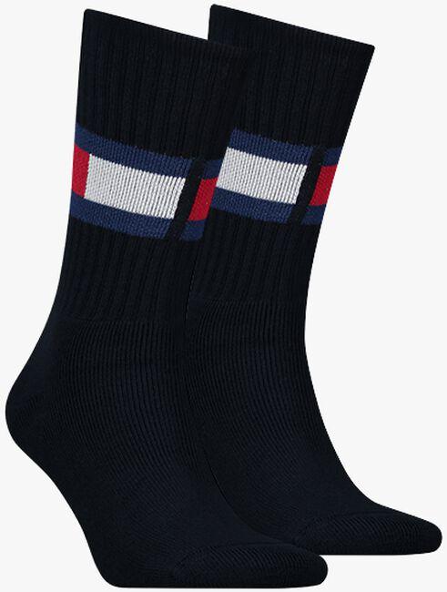 Blaue TOMMY HILFIGER Socken TH JEANS FLAG  - large