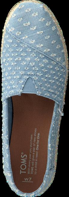 Blaue TOMS Espadrilles ALPARGATA W - large