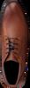 Cognacfarbene OMODA Schnürschuhe MBERTO612 05OMO - small