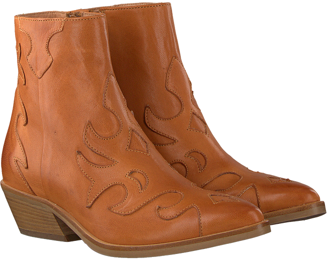 Cognacfarbene VIA VAI Cowboystiefel 5208080  - large