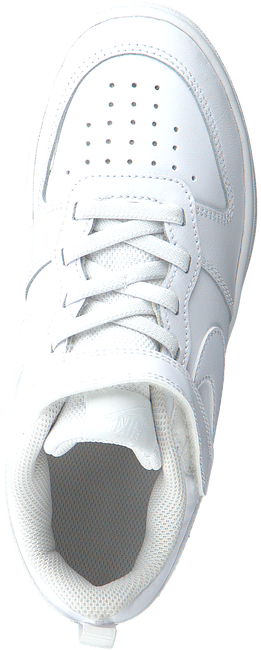 Weiße NIKE Sneaker low COURT BOROUGH LOW 2 (PS)  - large