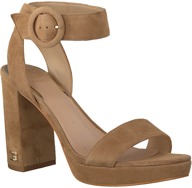 Taupe GUESS Sandalen BRENDY  - large