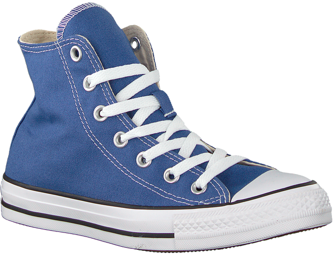 Blaue CONVERSE Sneaker CHUCK TAYLOR ALL STAR HI DAMES  - large