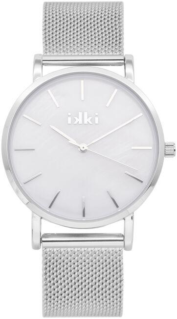 Silberne IKKI Uhr VIDA - large